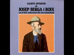 Escrits diversos de Josep Berga i Boix